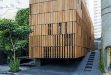 Fassade Holz