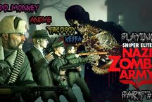 Sniper Elite: Nazi Zombie Army / Gameplay of Sniper Elite Nazi Zombie Army.  *If satanic symbols bother you, you shouldn't watch this*