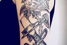 tattoos of woodcuts