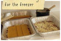 Freezer Meals -lunch/supper