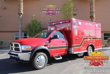 Ambulance Remounts / Remounting your ambulance saves time and money! Firetrucks Unlimited's ambulance remount service is the best way to keep your fleet in top condition without exceeding your budget. Contact us today for more info!