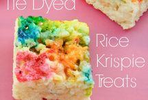 Bars - Rice Krispie / Rice Krispie Bars / by Sue Vanden Berge