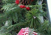 Weihnachts außen deko