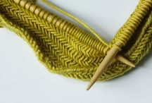 DIY: Knitting Ideas & Tips / I WILL learn how to knit one day. Gathering patterns, projects and tips for when I do.