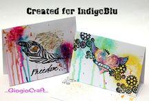 IndigoBlu Challenge 36 - Anything Goes / Design Team and Demonstrator challenge pieces