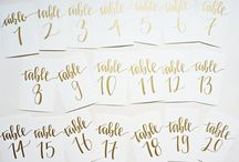 Pure Theming I Gold Table Numbers