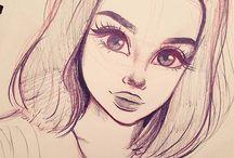 Desene in creion