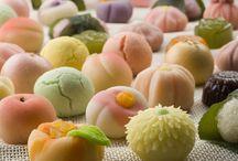 Japanese Sweets / #japanese #sweet #wagashi #japan / by Sonoe Kinoshita