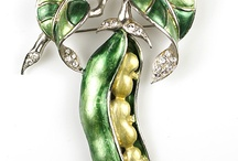 Fruits & Veggies | Vintage Jewelry / Fruit & Vegetable Figurals | Vintage Costume & Fine Jewelry