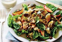 Roasted Brussels sprouts  Apple Salad
