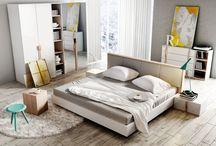Lenart - bedroom / O jakiej sypialni marzymy? Na pewno przytulnej, funkcjonalnej i klimatycznej. Na pewno takiej z wygodnym łóżkiem, pojemną szafą i ......