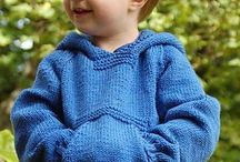 Boys knitting