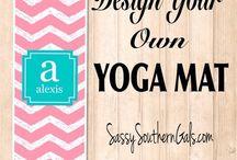 Yoga Mats / Personalized Yoga Mats