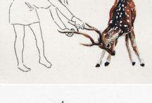 Zeichnungen Tiere