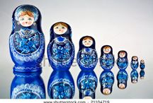 Russian folk art and inspirations / Russian folk art and Russia based inspiration