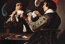 Gaming in Paintings
