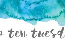 Top Ten Tuesday / A weekly meme hosted by The Broke and Bookish featured on As Told By Tina
