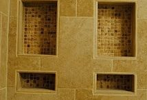 Neutral colours / Shower tiles