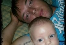 daddy and baby pics
