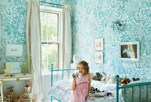 Girls bedrooms inspiration / This board is all about beautiful girls bedrooms, bedroom decor & decorative pieces to inspire you to make the perfect space for your little girl. / by Kylie Loy