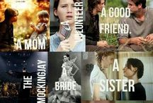 Happy hunger games / Hunger games stuff like books and films also actors