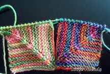 Quadrado colorido trico