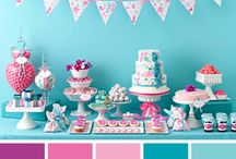 Color Pallete / Color ideas for a parties and décor. / by Vickie List