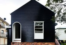 Weatherboard and Brick