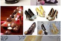 csokoládé topánok