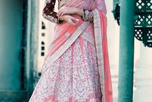 Pink Bridal Lehenga Cholis / Pink is always the first choice of any woman who is getting married.Take a look at ethereal designs and a touch of feminine elegance. Shop bridal lehengas at www.panashindia.com