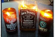 whisky bottle diy
