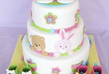 Basic fondant cakes