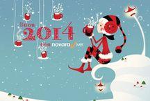 Happy 2014 / Wallpaper per festeggiare l'arrivo del 2014
