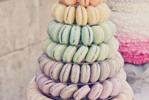 *** Hochzeit - Macarons *** / Die kleinen bunten Plätzchen :)