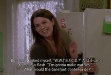 Life according to the Gilmore girls