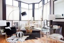 home - living rooms / by Anna Thompson