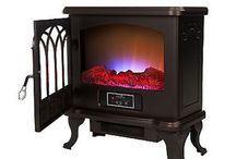 Duraflame Electric Fireplace / If you enjoy the ambiance and warmth of a fireplace, then the Duraflame electric fireplace will be a great addition to your home.