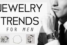 Men's Jewelry / A man's go-to for tips on styling with fine jewelry.