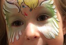 disney inspired face paint