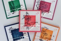 3 x 3 cards, gift cards holders