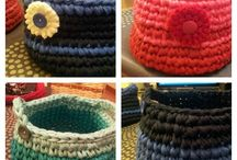 Mis cestas crochet