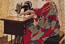 sew and  stitch art
