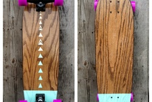 < Longboards and related > / I think skateboards are cool. But longboards are just more practical rly.