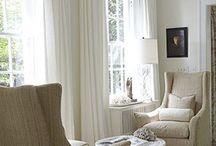 decorating/window treatments / by Sandy Hartzler