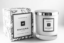 Gardenia by Havana Home / This soft scented Gardenia candle is a favourite here at Havana Home. Inspired by the summer bloom and its exquisite perfume,  this candle creates an elegant ambience