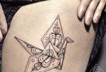 Tatuagens na coxa