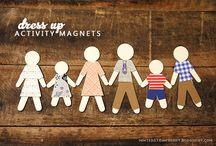 Magnet  Familie