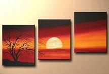 3 piece acrylics