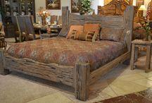 Деревенская мебель для спальни