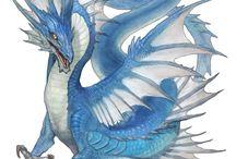 Dlue dragons